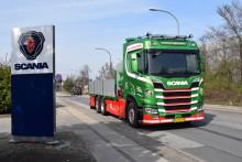 Ny brændstoføkonomisk Scania til Steffen Brixtofte