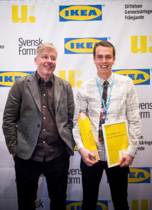Ung Svensk Form-stipendiat utsedd