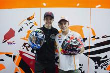 Shoei och bröderna Marquez fortsätter samarbetet