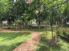 Fruktlund på Holma ska bidra till grannsamverkan och skön närmiljö