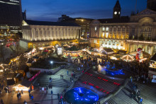 Don't Get Left Behind at the Christmas Market