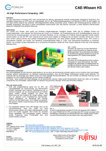 High Performance Computing (HPC) DE