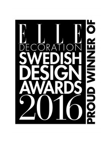 ELLE Decoration Swedish Design Awards 2016