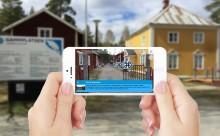 Digital guide på Gammplatsen, Lycksele