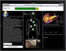 Patientinformation platsar i pekplattan