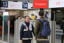 Gatwick Express staff celebrate 35 years of operations