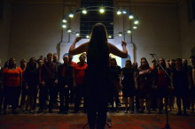 Community choirs' pop hits support local children's charity