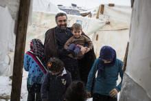 Lindex kunder rundade upp 1,3 miljoner kronor till familjer på flykt