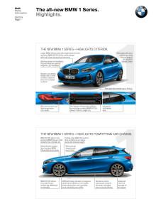 BMW 1-serie - Highlights
