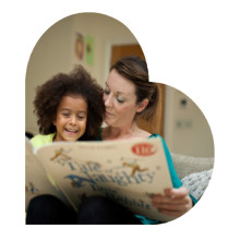 Let's read together and inspire our children's imagination