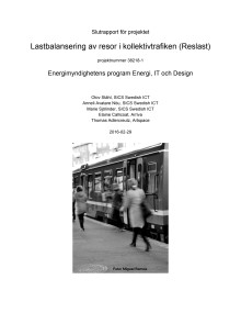 2016 Slutrapport Reslast-projektet
