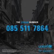 UNICEF vill få svenskar att ringa The Syrian Number
