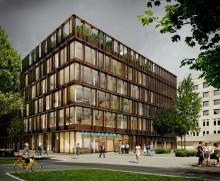 Obrännbar isolering med ISOVER FireProtect® i Täbys nya och hållbara kommunhus