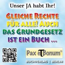 Pax et Bonum Grüße zum Lesbisch-Schwulen Straßenfest und CSD 2016