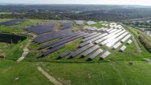 RES et la ville de Nîmes inaugurent la centrale solaire des Lauzières