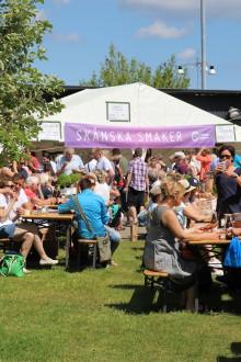 Skånes Matfestival lockade 8500 till Brösarp