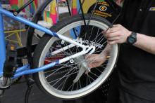 Sportson på Nordens största cykelmässa