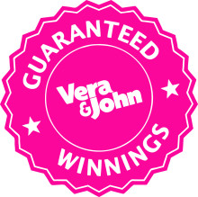 GUARANTEED WINNINGS: Vera&John Guarantee a €5,000 winner every day