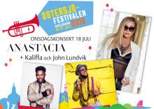 Hiphop och reggaestjärna tillsammans med Melloaktuell artist bokade till Östersjöfestivalens onsdagskonsert