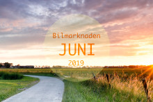 Bilmarknaden juni 2019