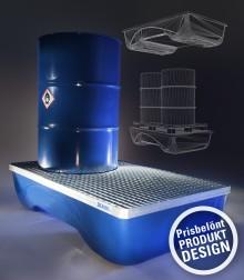 UltraSafe – Flerfaldigt prisbelönt uppsamlingskärl från DENIOS.