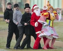 Santa helps police keep you safe this Christmas