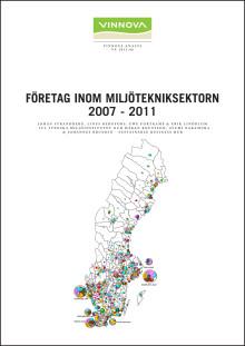 Företag inom miljötekniksektorn 2007-2011