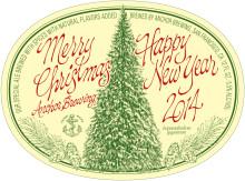 Julölens julöl Anchor Christmas Ale 2014.