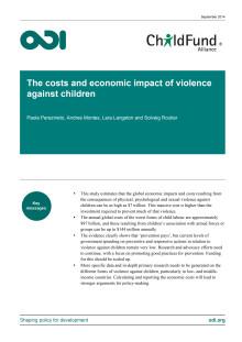 Kostnaderna för våld mot barn