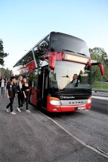Blekinges kollektivtrafik i Sverigetoppen när det gäller miljövänlighet