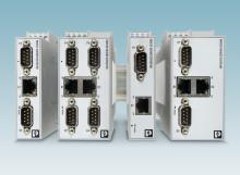 Seriell data till Ethernet för industrin