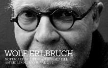 Wolf Erlbruch är mottagare av Litteraturpriset till Astrid Lindgrens minne 2017