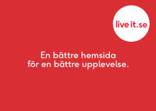 Live it lanserar ny hemsida