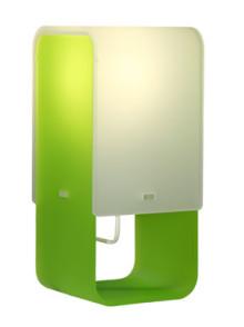 Lightsquare LED. Fox Design presenterar bordslampa för den nya ljuskällan.