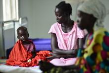Sydsudan riskerar näringskris om inte våldet tar slut