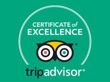 Flygbussarna får TripAdvisors Certificate of Excellence
