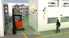 Toyota SpotMe® varoitusjärjestelmä turvallisemman työympäristön puolesta