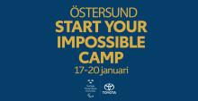 Start Your Impossible Camp – nu dags för Östersund