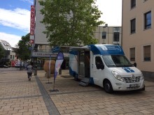 Beratungsmobil der Unabhängigen Patientenberatung kommt am 27. September nach Kaiserslautern.