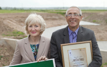 Lettiska bönder prisas för sina initiativ att skydda Östersjön