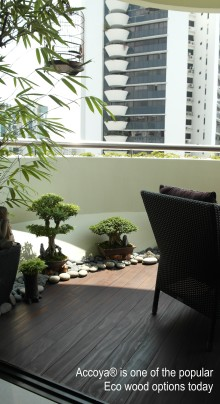 Benefits of Eco Wood Decking in Singapore Homes