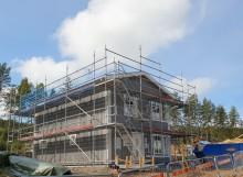 OBOS gräver vidare i Lilla Källviken –  första huset står klart i Brf Dora Lindgrens väg 2