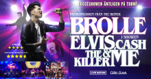 ​Brolle till Scandinavium med succéshowen Elvis, Cash, The Killer & Me