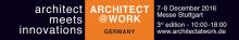 Villeroy & Boch Fliesen au salon ARCHITECT@WORK 2016