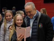 Skolbarn i Eskilstuna möter sina barnrättshjältar