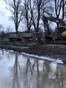 Största insatsen inom Göta kanal 2.o inledd i Söderköping