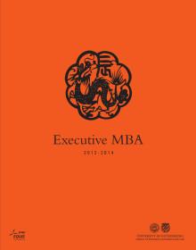 Executive MBA brochure 2012-2014
