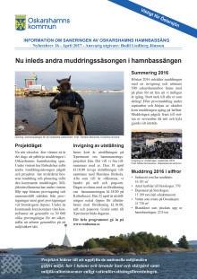 Nyhetsbrev 16 - Sanering av Oskarshamns hamnbassäng