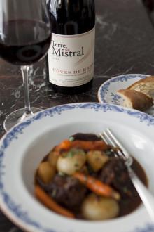 Terre de Mistral ny prisvärd Côte-du-Rhône på Systembolaget!
