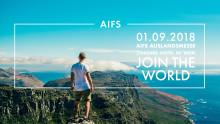 AIFS Auslandsmesse – Inspiration für junge Leute